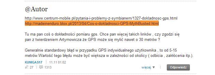 "Coś o madeinenduro, GPS i pewnej ""brzozie"" :)"