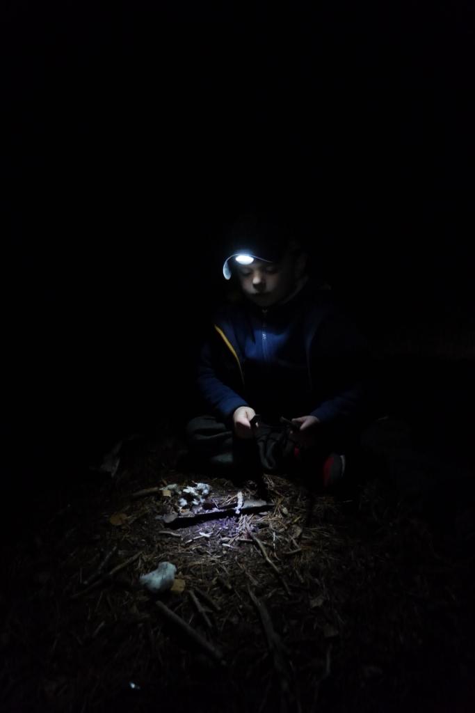 nic tak nie kształtuje charakteru jak nocne ciatanie po lesie bez celu...