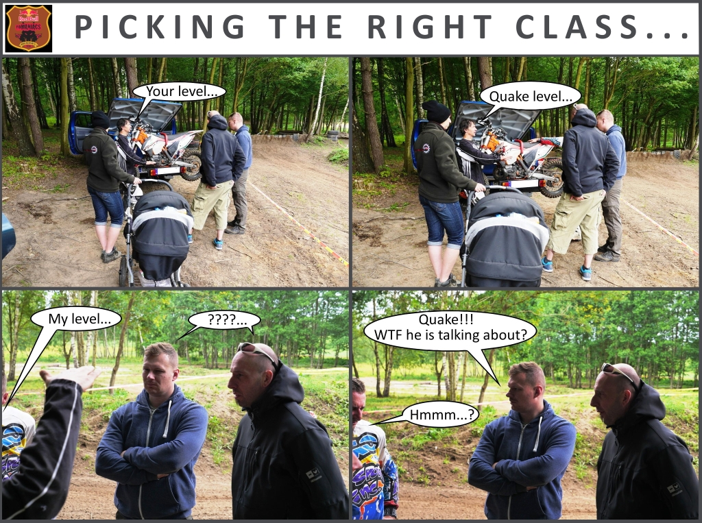 PICKING THE RIGHT CLASS
