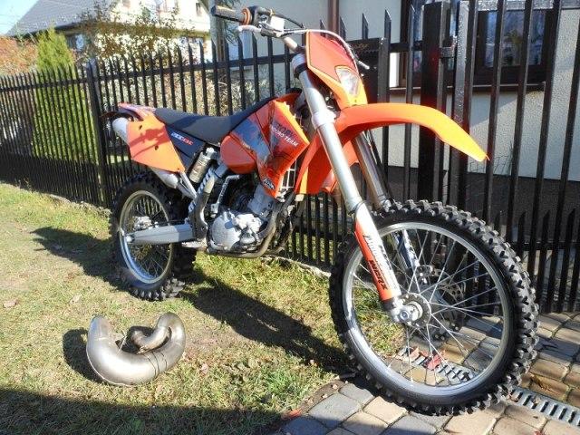 Najlepszy motocykl w miescie EXC 200