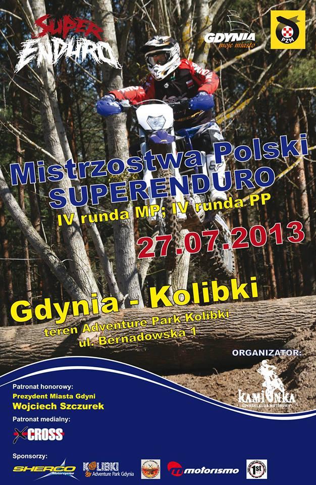 Mistrzostwa i Puchar Polski w Super Enduro - Gdynia 27 lipiec 2013