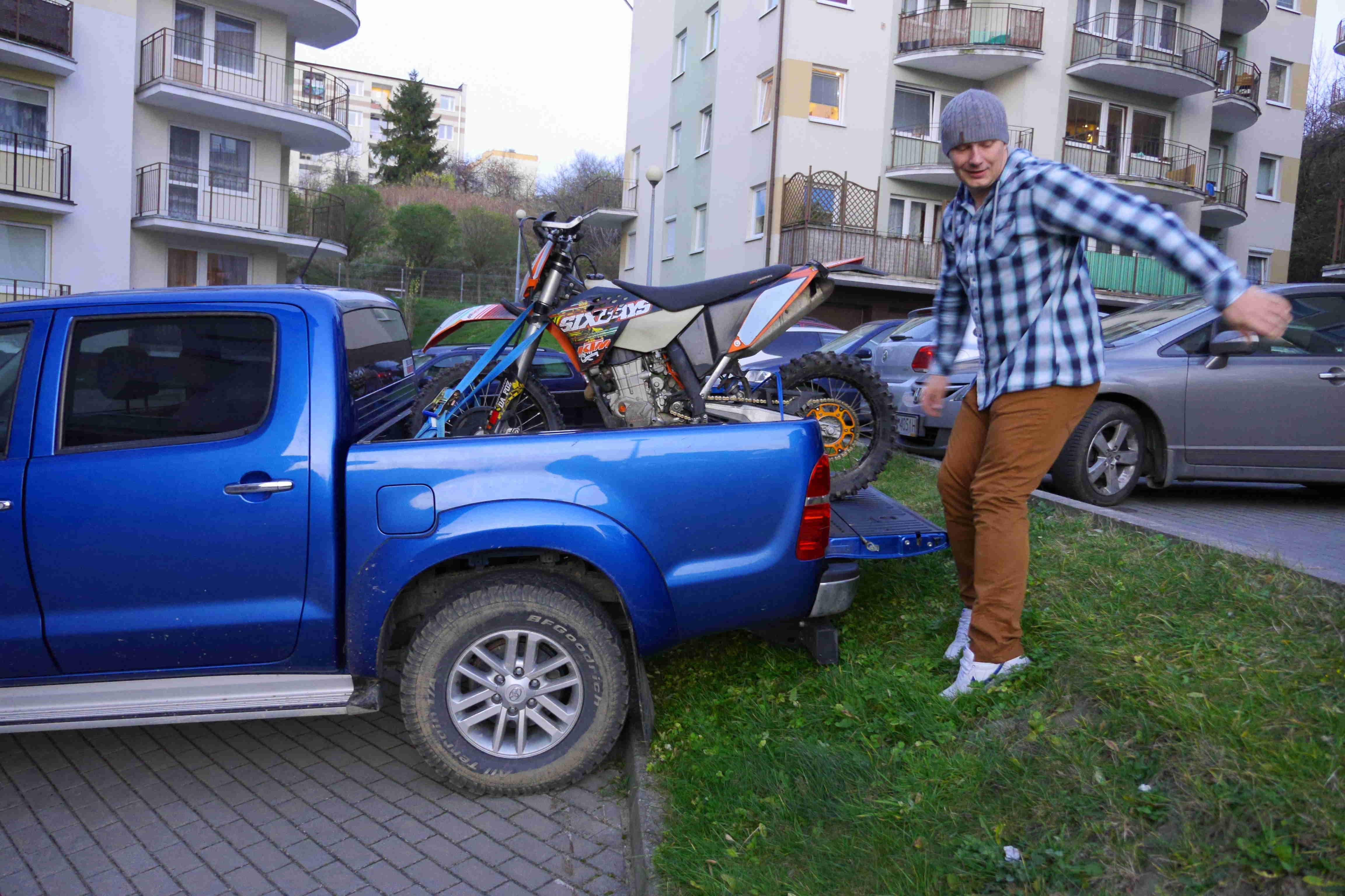 Najazd czyli rampa by MadeinEnduro :)