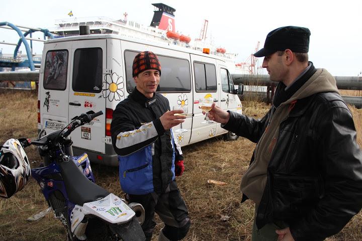 Estakada - Staroroczny trening SuperEnduro 31.12.2012