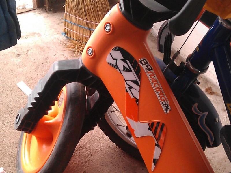 Paka z KTM