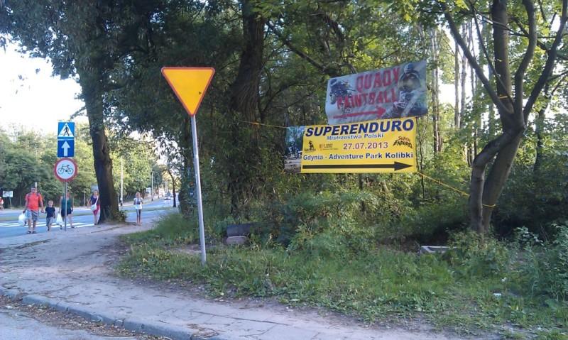 Baner Super Enduro