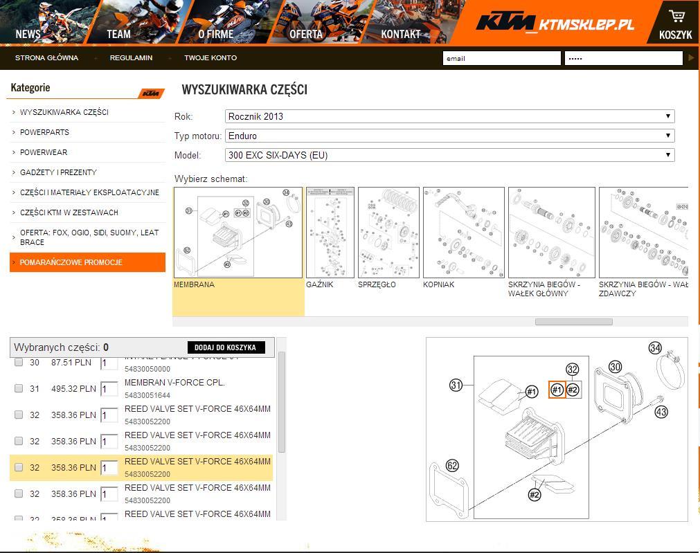 Akcja problem z KTM
