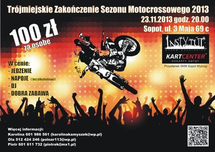 Trójmiejskie Zakończenie Sezonu Motocrossowego 2013