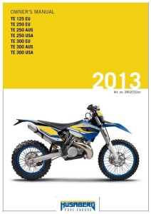 Husaberg Manual 2013
