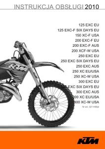 KTM Manual 2010
