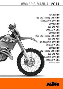 KTM Manual 2011