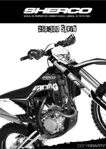 Sherco Manual 2013250_300_SEF_R