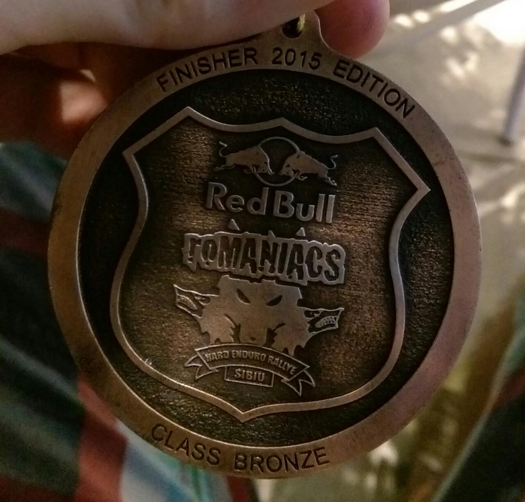 RBR 2015 finisher
