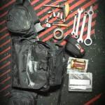 TOOL PACK KIT by Enduroblog.pl - Narzędziówka Ogio, KTM tool set + kilka innych narzędzi, Taśma izolacyjna, papier toaletowy soft :), słoik miodu na osłodzenie enduro życia :P