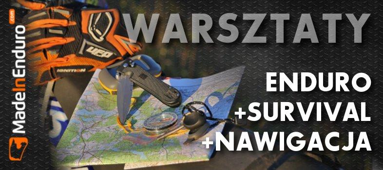 Warsztaty ENDURO +SURV +NAV…