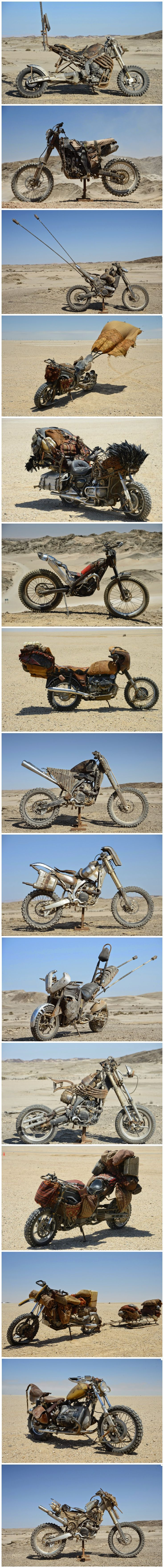 Mad Max Fury Road motorcycle
